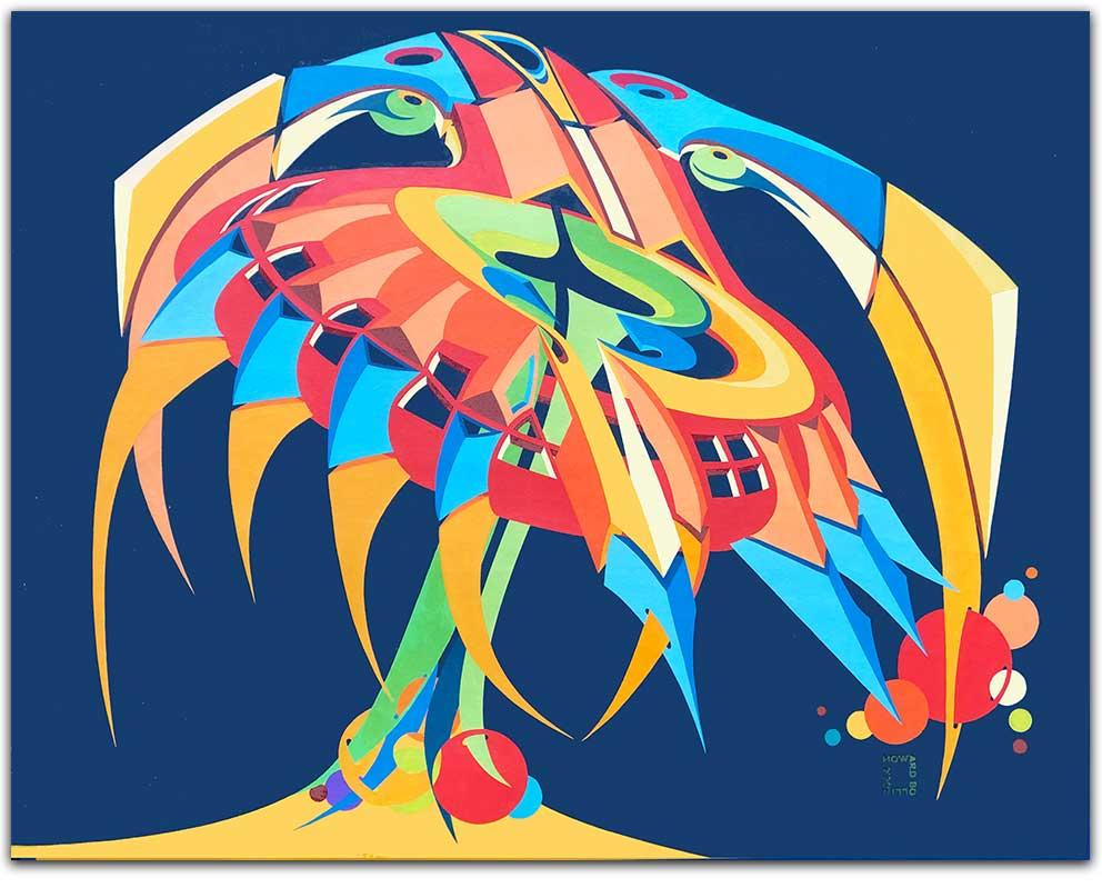"""Whirlybird 26"""" x 30"""""""